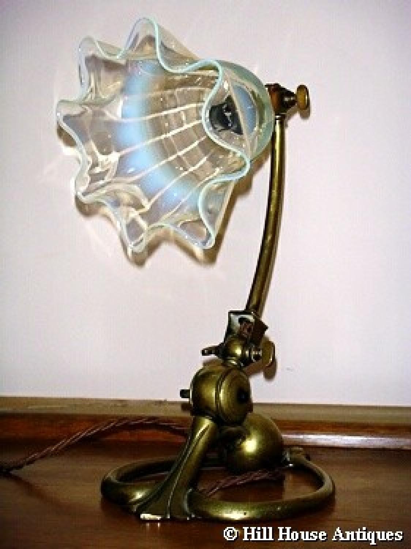 WAS Benson brass counterbalance lamp