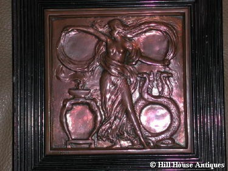 Symbolist decorative plaque