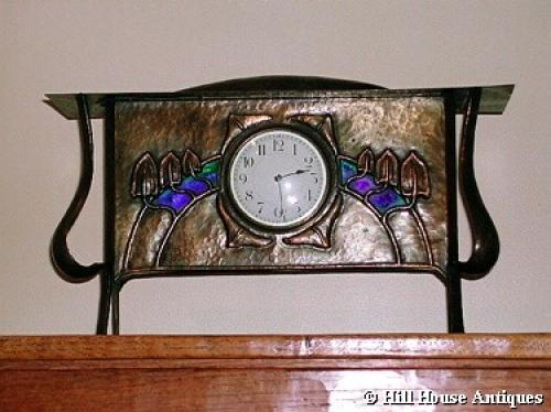 Glasgow School George Walton mantle clock