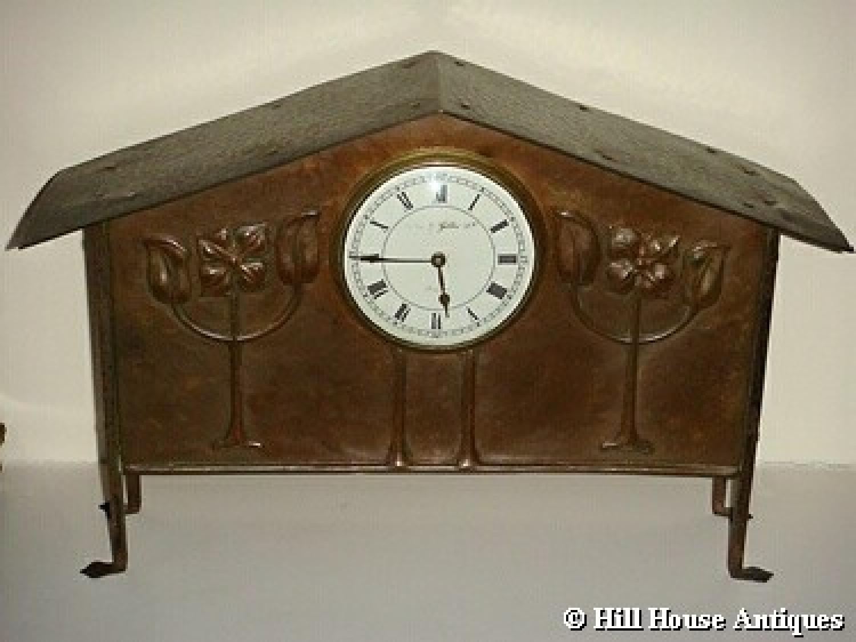 Glasgow Style George Walton mantle clock