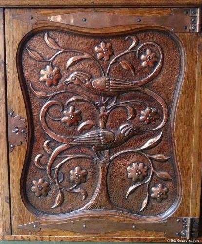 John Pearson Arts & Crafts wall cabinet