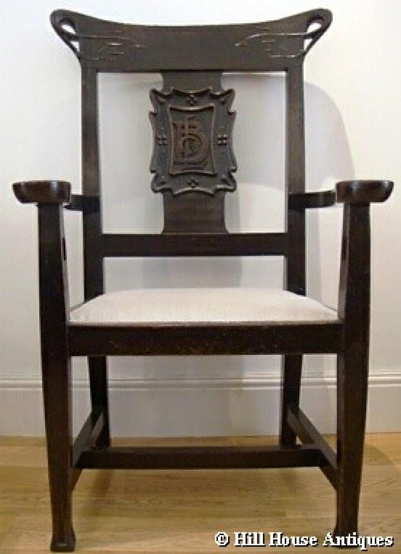 British Linen Bank Glasgow armchairs & table