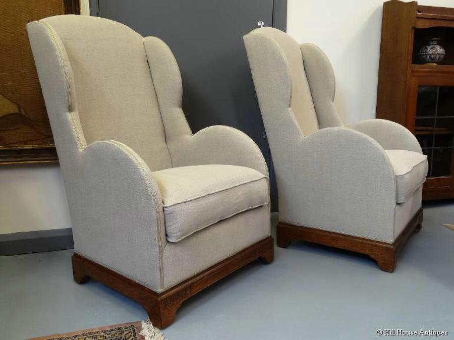 Liberty & Co pair easy chairs