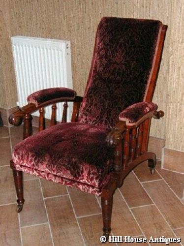Rare Morris & Co style recliner