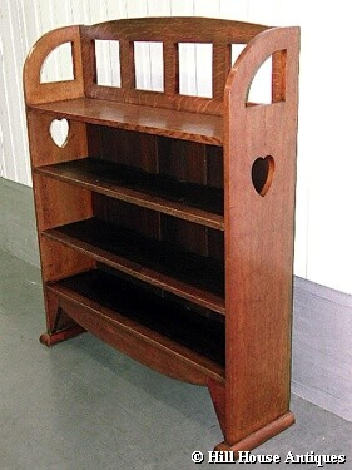 Wylie & Lochhead Arts & Crafts bookshelves