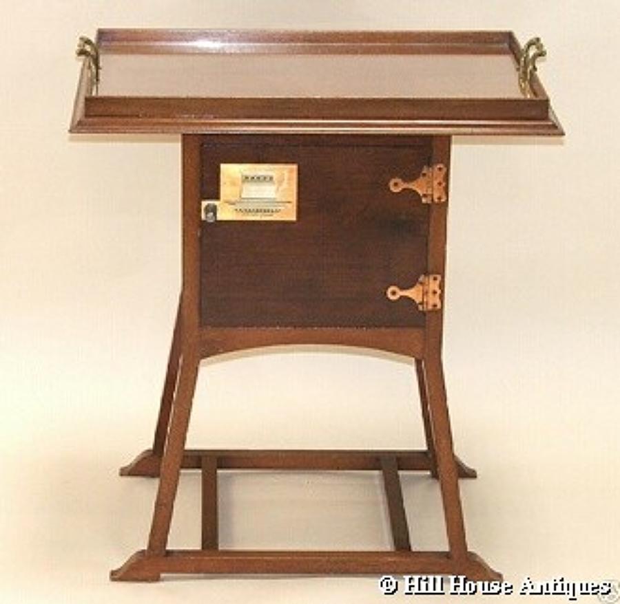William Birch Punnett bedside tea table