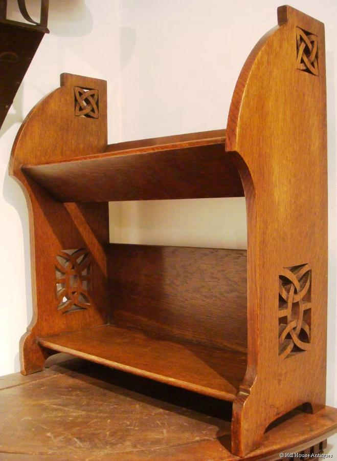 Shapland & Petter Celtic bookshelves