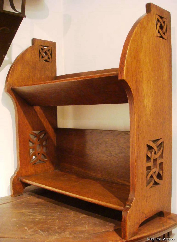 Shapland & Petter Celtic bookshelves
