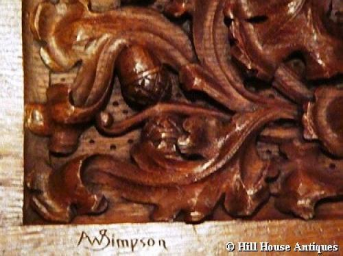 Rare Arthur Simpson of Kendal panel