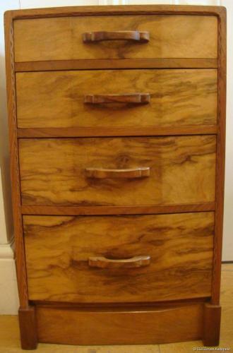 Stanley Webb Davies chest/bedside cabinet