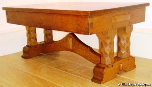 Romney Green/Gimson low table stool