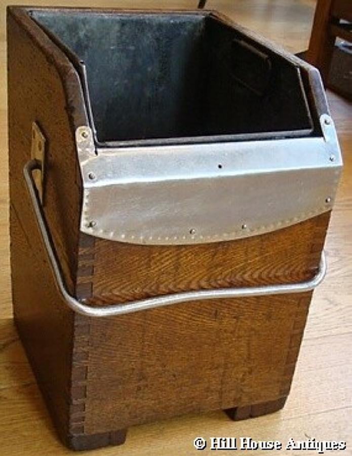 Rare Gordon Russell oak log box