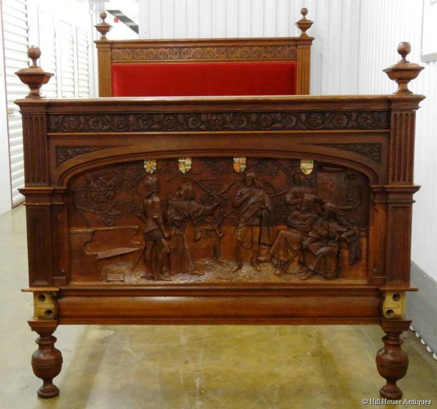 Arts & Crafts Shakespeare bed
