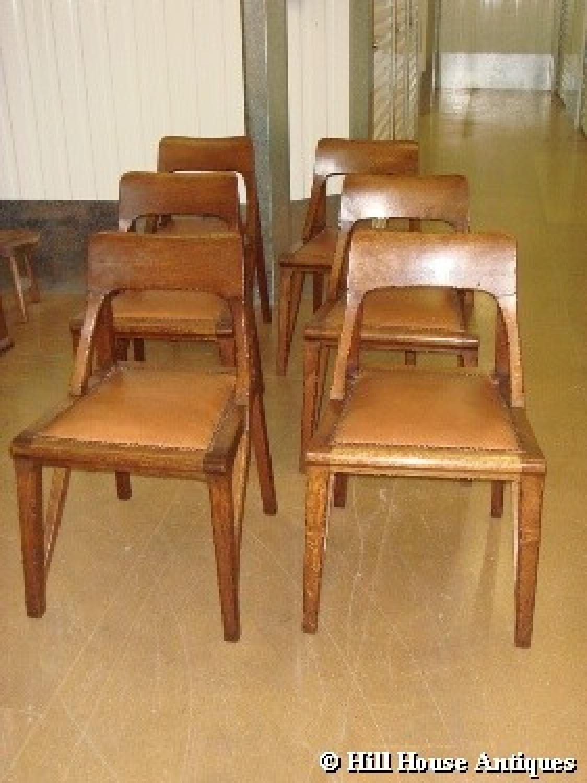 Richard Riemerschmid Liberty 6 chairs