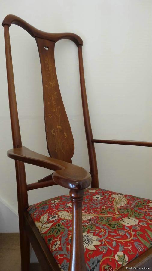 George Walton Glasgow Brussels armchair