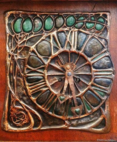 Liberty & Co Leonard Wyburd clock