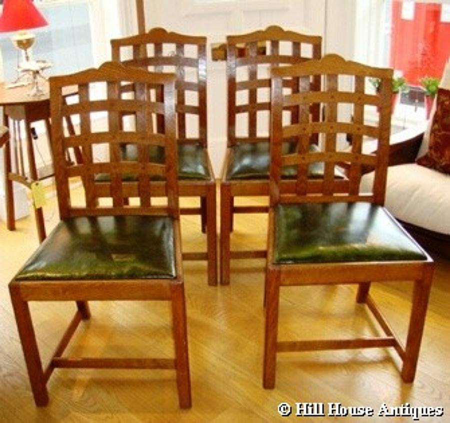 Ambrose Heal lattice back chairs