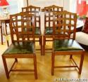 Ambrose Heal lattice back chairs - picture 1