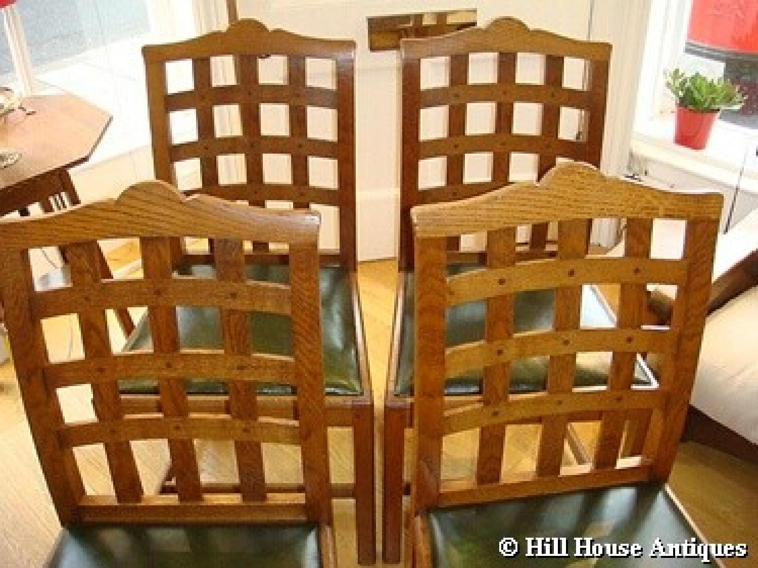 ... Ambrose Heal Lattice Back Chairs   Picture 2 ...