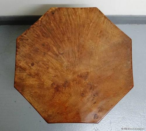 Rare early small Mouseman coffee table