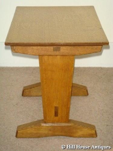 Hugh Birkett low small table stool