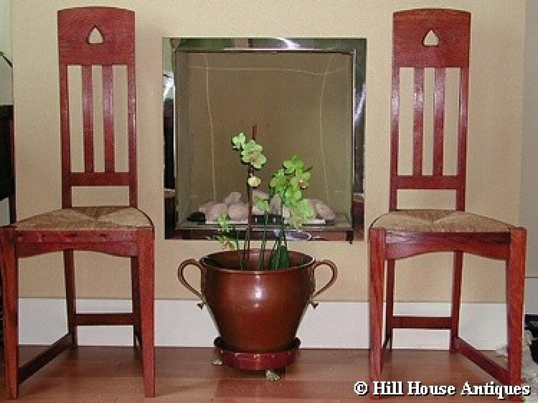 Rare pair of John Ednie chairs