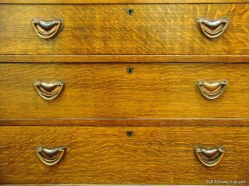 Liberty & Co pagoda chest cupboard
