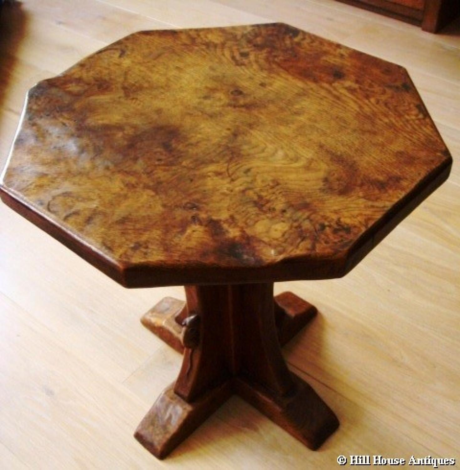 Early Mouseman coffee table
