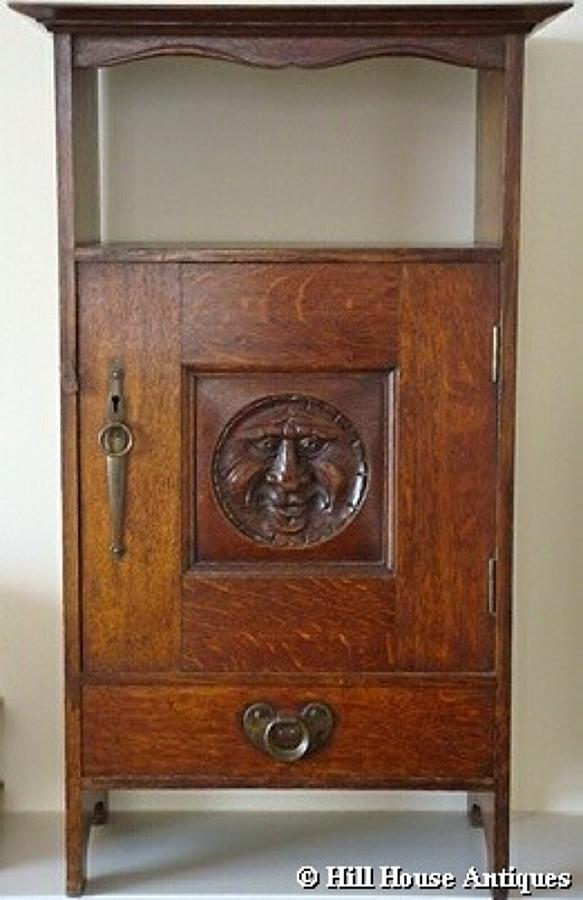 Arthur Simpson of Kendal Green Man cabinet