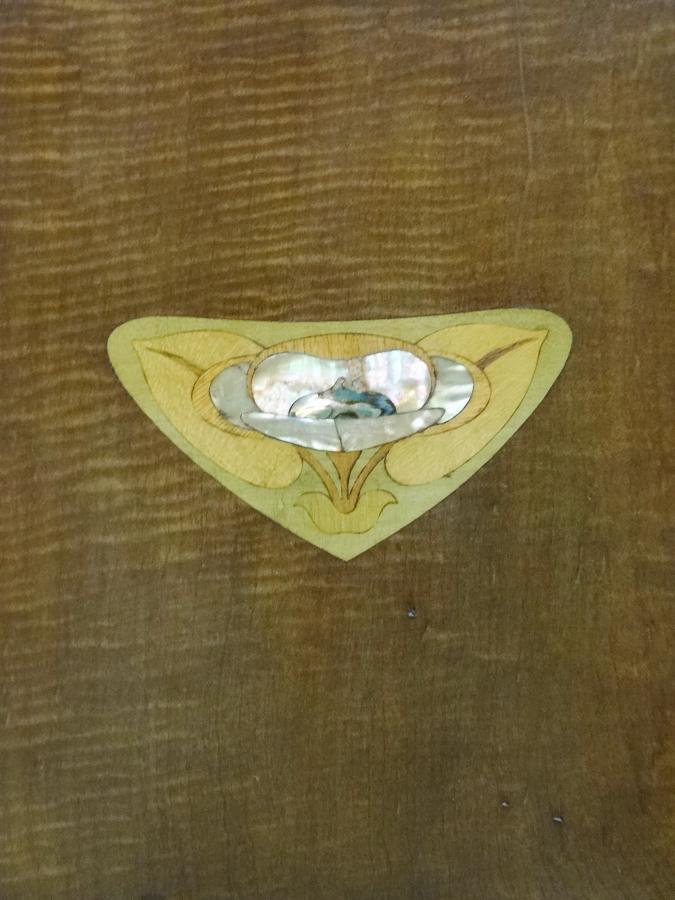 Liberty Art Nouveau bedside cabinet Wyburd