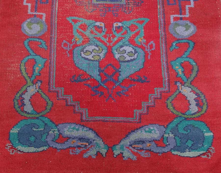 Irish Arts & Crafts Dun Emer Guild rug