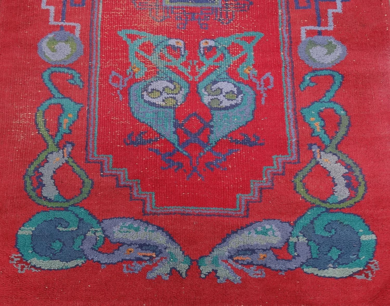 Irish Arts & Crafts Dun Emer Guild rug