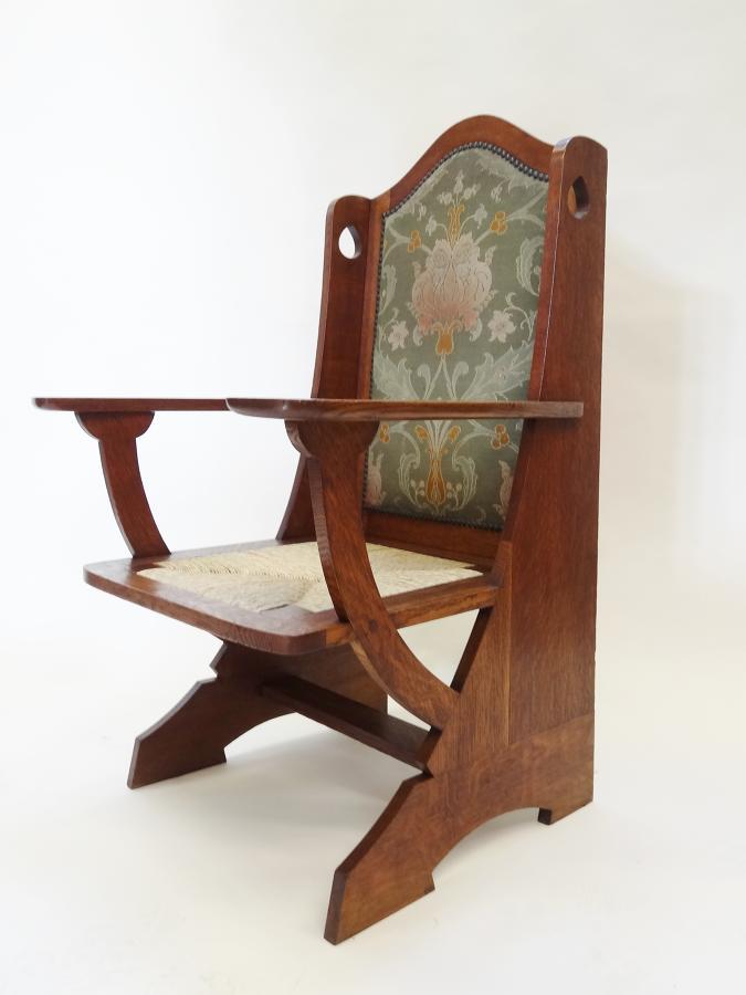 Liberty & Co Wyburd Arts & Crafts armchair