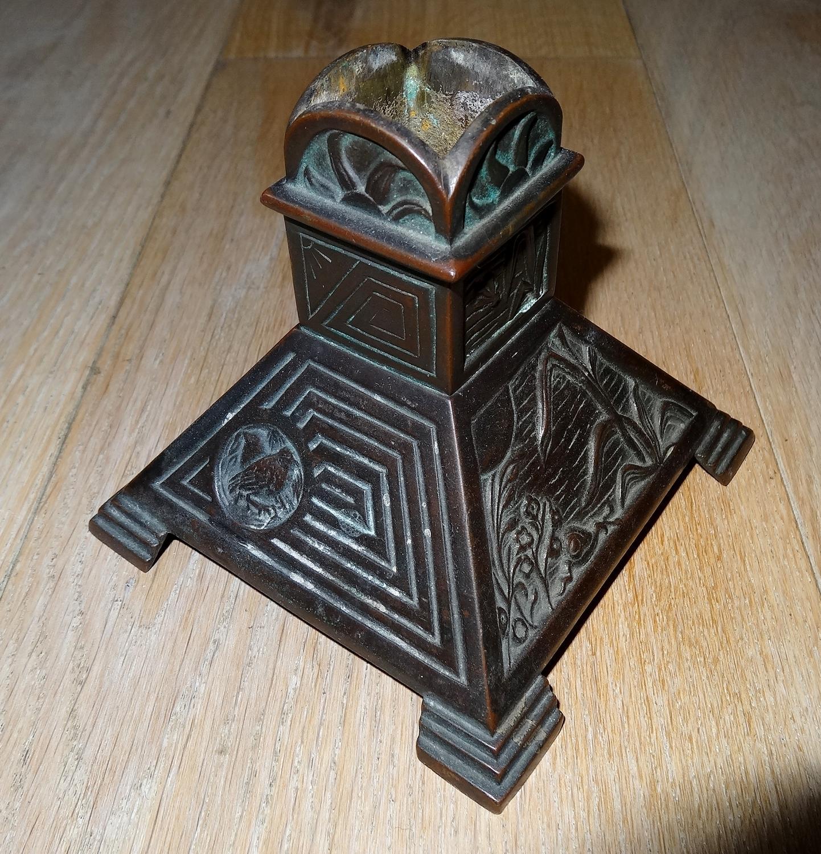 Henry Jeckyll Aesthetic Movement bronze base