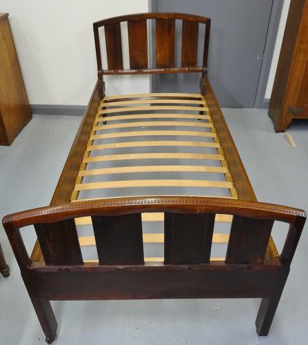 Cotswold School Edward Barnsley oak bed