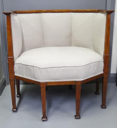 Ambrose Heal Arts & Crafts 8-legged armchair