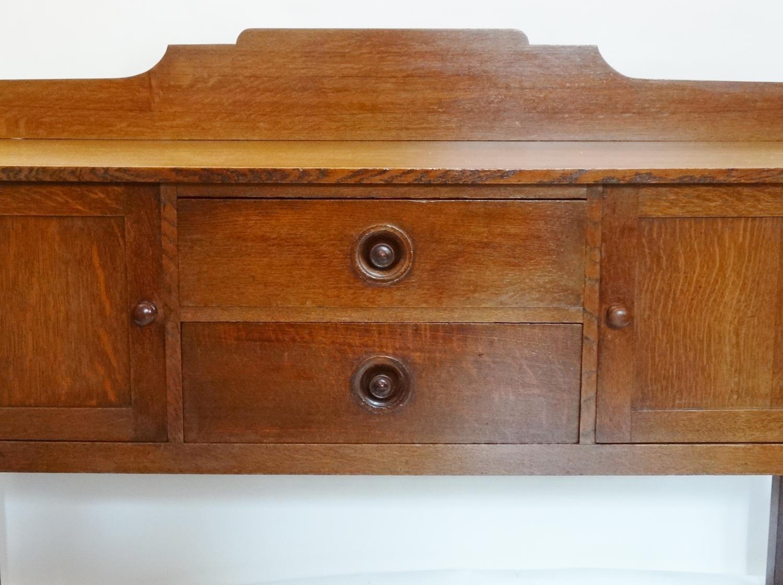 Ambrose Heal early oak sideboard