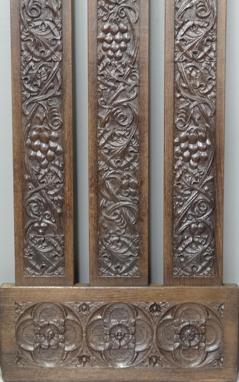 Arthur Simpson of Kendal Arts & Crafts carving