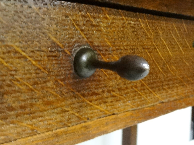 Rare CFA Voysey oak table desk