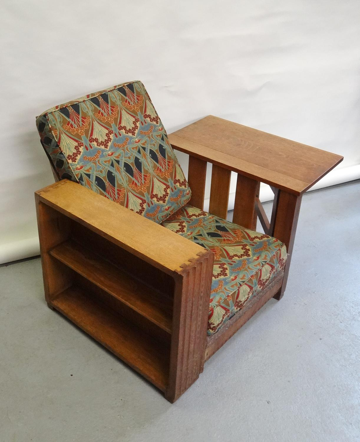 Classic Heals book table chair recliner