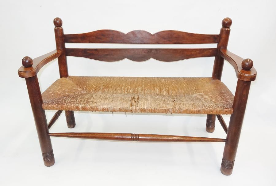 William Birch Arts & Crafts settle