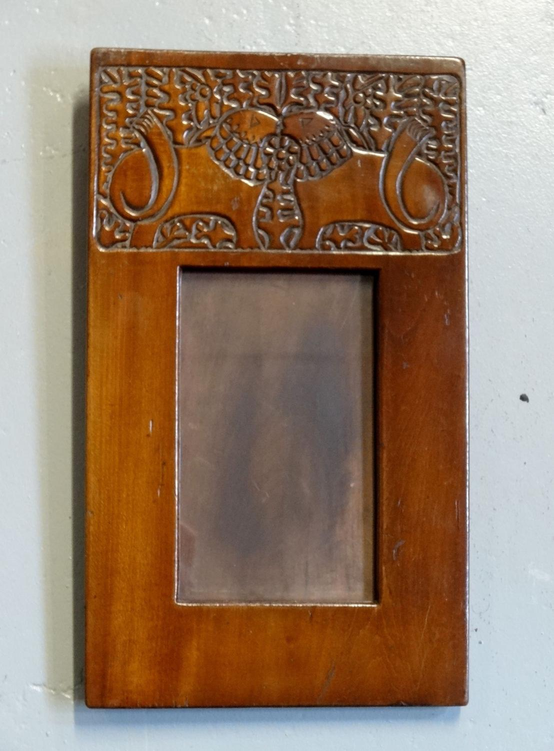 Russian Arts & Crafts photo frame