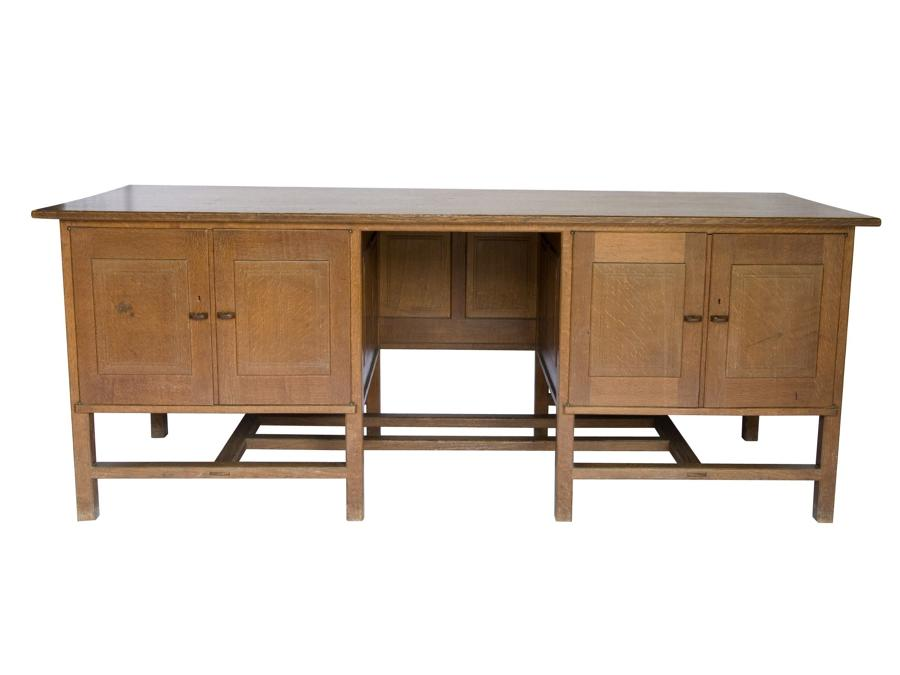 Important Peter Waals Gimson desk