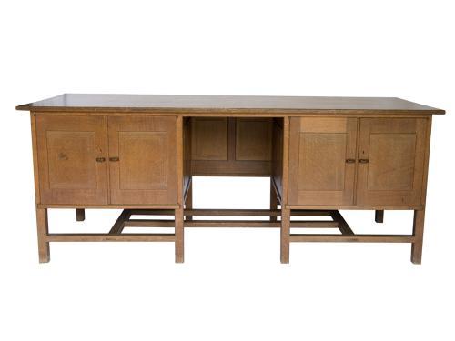 Important Peter Waals Gimson desk