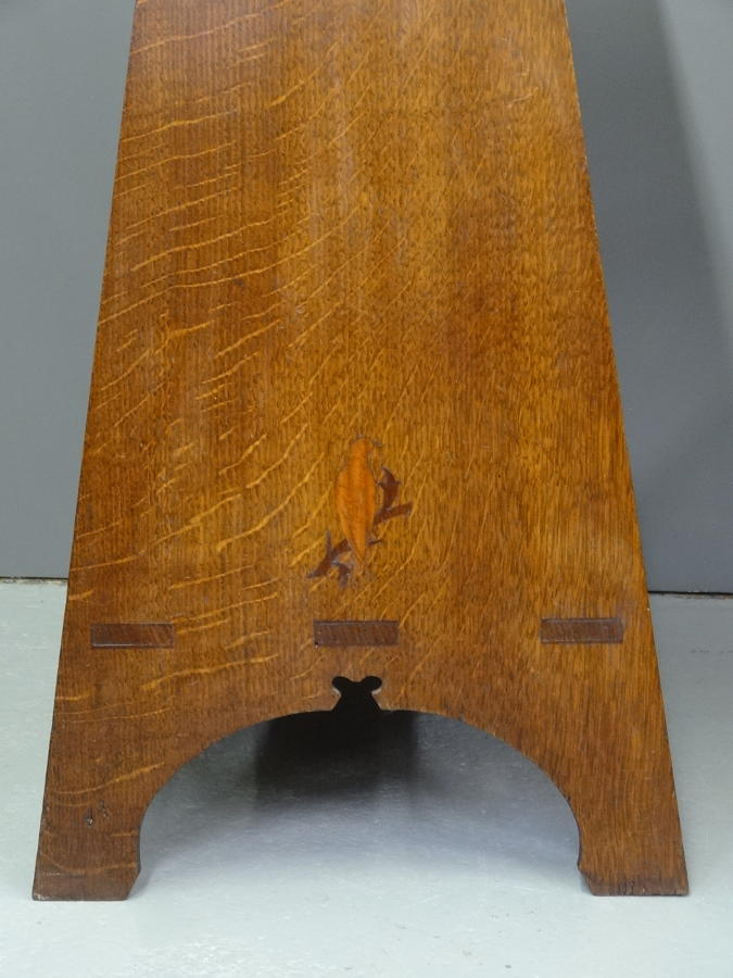 Rare AW Simpson Voysey bird table