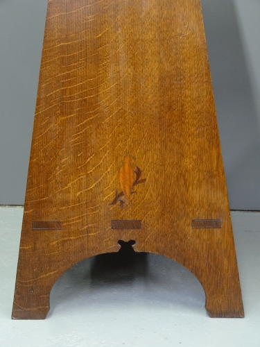 Rare AW Simpson Voysey bird table