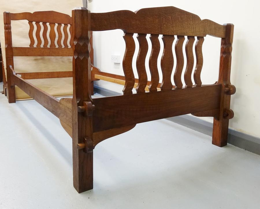 Arthur Romney Green Cotswold School PAIR of beds