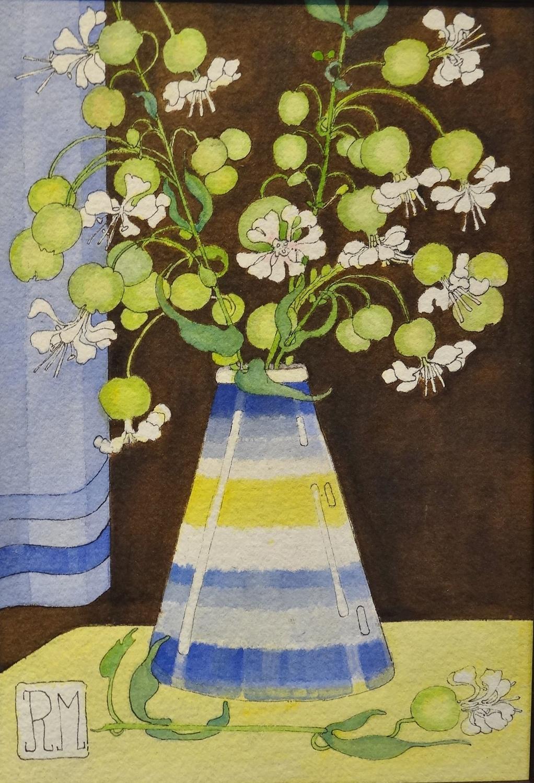 Rosemary Marshall watercolour - Sea Campion