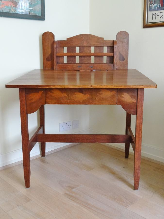 Stickley Brothers Voyseyesque Baillie Scott Arts & Crafts desk