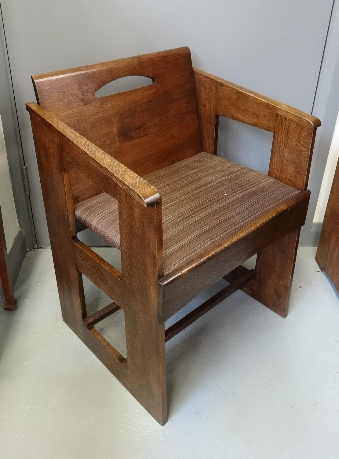 Charles Rennie Mackintosh Miss Cranston armchair